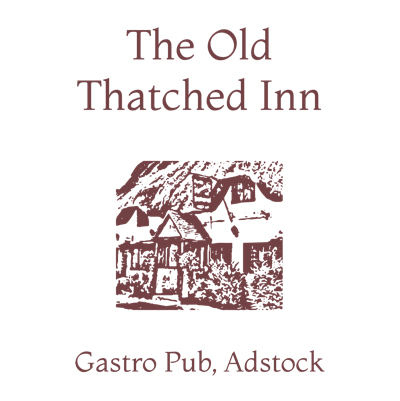 The Old Thatched Inn, Adstock – Fine food in Adstock, Buckinghamshire